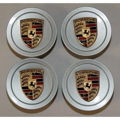 Porsche 986/996 Porsche Crest Center Wheel Caps