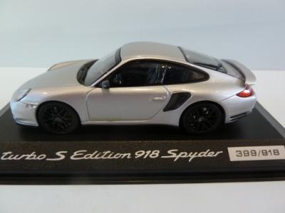 Porsche Model Car Turbo S Edition 918 Spyder