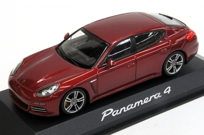 Porsche Model Car Panamera 4 2nd Generation - Ruby