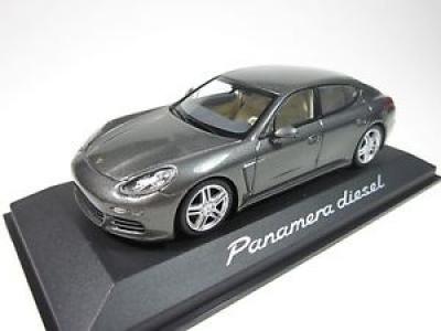Porsche Model Car Panamera 4S 2nd Generation - Dark Silver