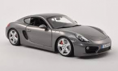 Porsche Model Car Cayman S 1:18