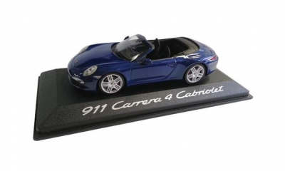 Porsche MODEL CAR CARRERA 4 CABRIOLET 911