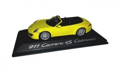 Porsche Model Car Carrera 4S Cabriolet 911