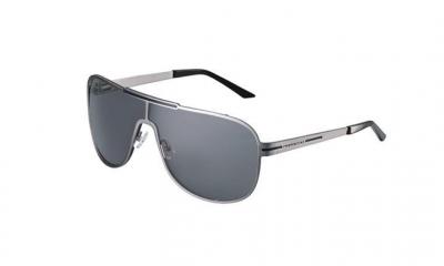 Porsche Aviator Sunglasses, Gray/Black