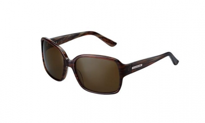 Porsche Women's Sunglasses, Brown