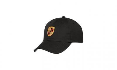 Porsche Crest Baseball Cap - Black