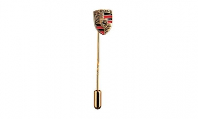Porsche Crest Stick Pin