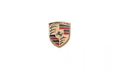 Porsche Crest Badge