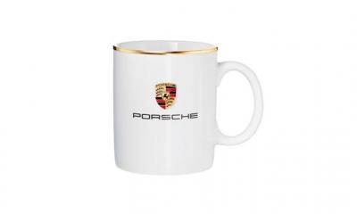 Porsche Crest Mug - Small