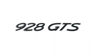 Porsche Emblem GTS