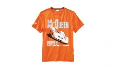 Porsche Steve McQueen Car T-Shirt