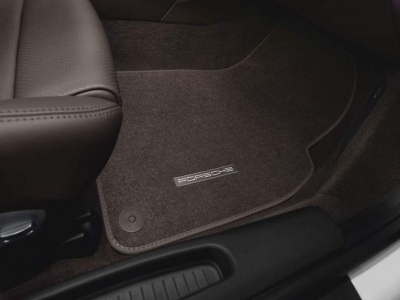 Porsche Carpeted Floor Mats (Set of 2)