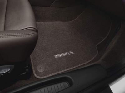 Porsche Carpeted Floor Mats (Set of 2)