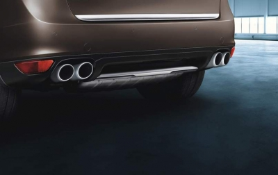 Porsche Stainless-Steel rear trim