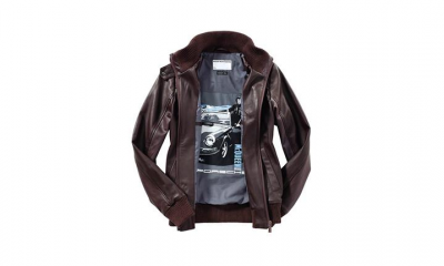 Porsche Steve McQueen Ladies Leather Jacket