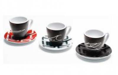 Porsche 2015 Porsche Racing Espresso Cup Set of 3