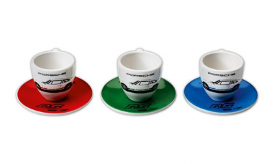 Porsche Carrera RS 2.7 Espresso Set