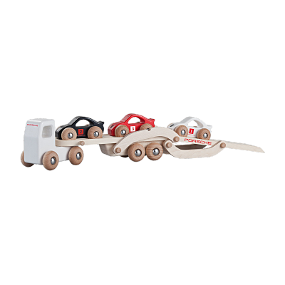 Porsche Wooden Race Truck Set