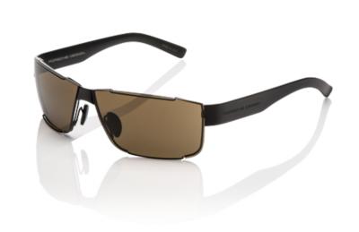 Porsche Design Sport Sunglasses, Black Matte