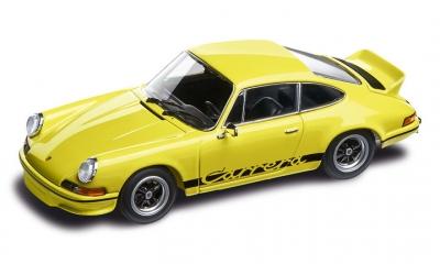 Porsche Yellow 911 Carrera RS 2.7 1:43