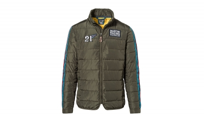 Porsche Martini Racing Quilted Jacket for Men