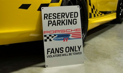 Porsche Limited Edition Rennsport Reunion VI Sign