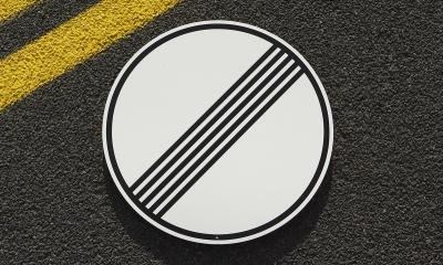 Official No Speed Limit Sign