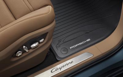 Porsche All-weather floor mats E3