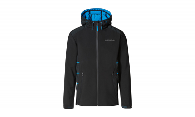 Taycan Collection Black/Blue Men's Jacket