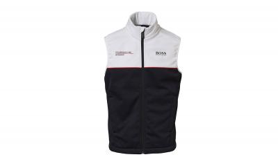 Motorsports Collection Black/White Unisex Vest