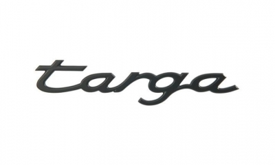 Porsche Emblem Targa
