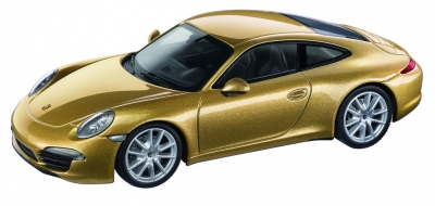 Porsche Model Car 911 Carrera S Gold